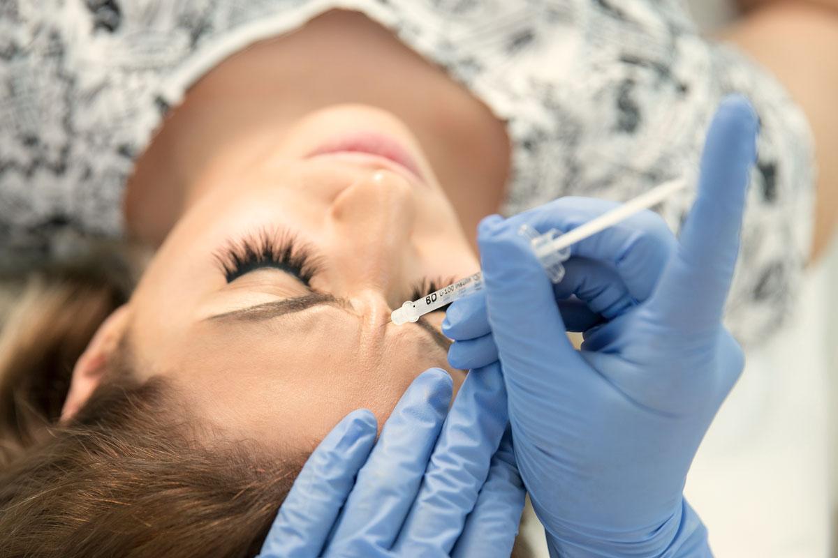 Botox Behandlung gegen Falten bei Dr. Wallentin Wien