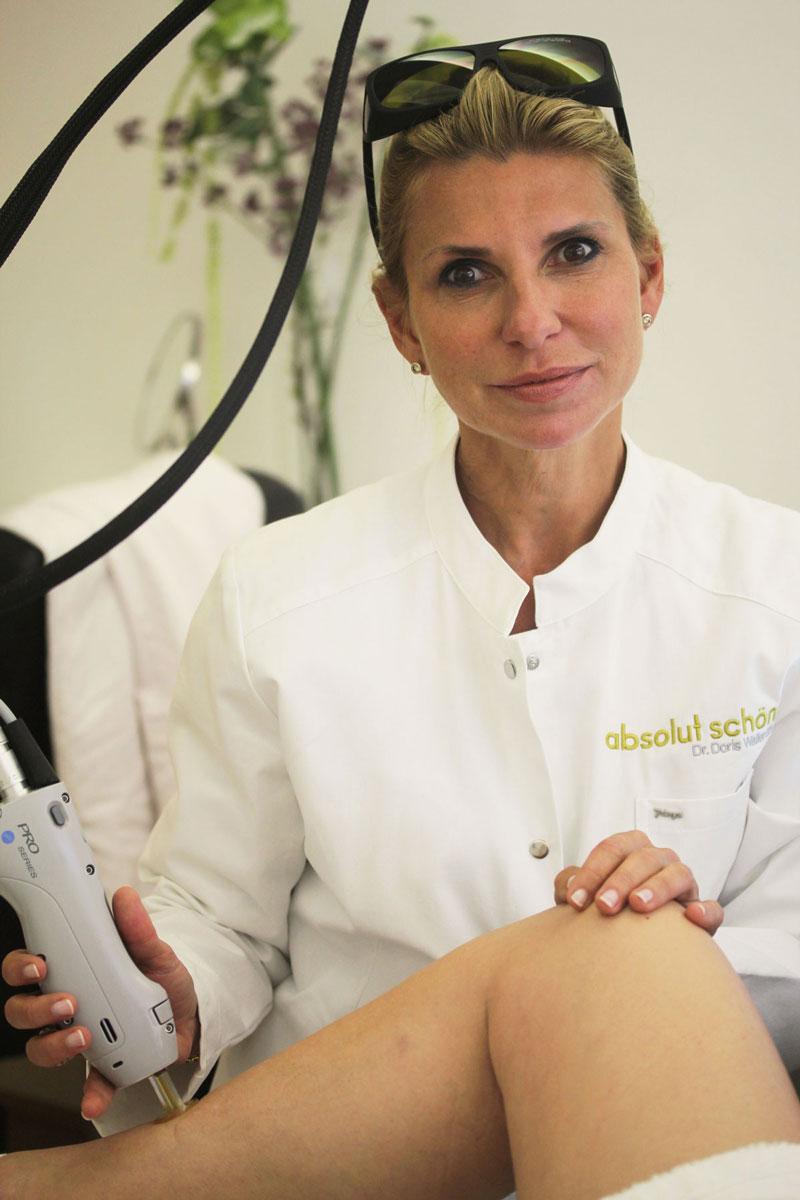 Dauerhafte Laser-Haarentfernung bei Dr. Wallentin Wien