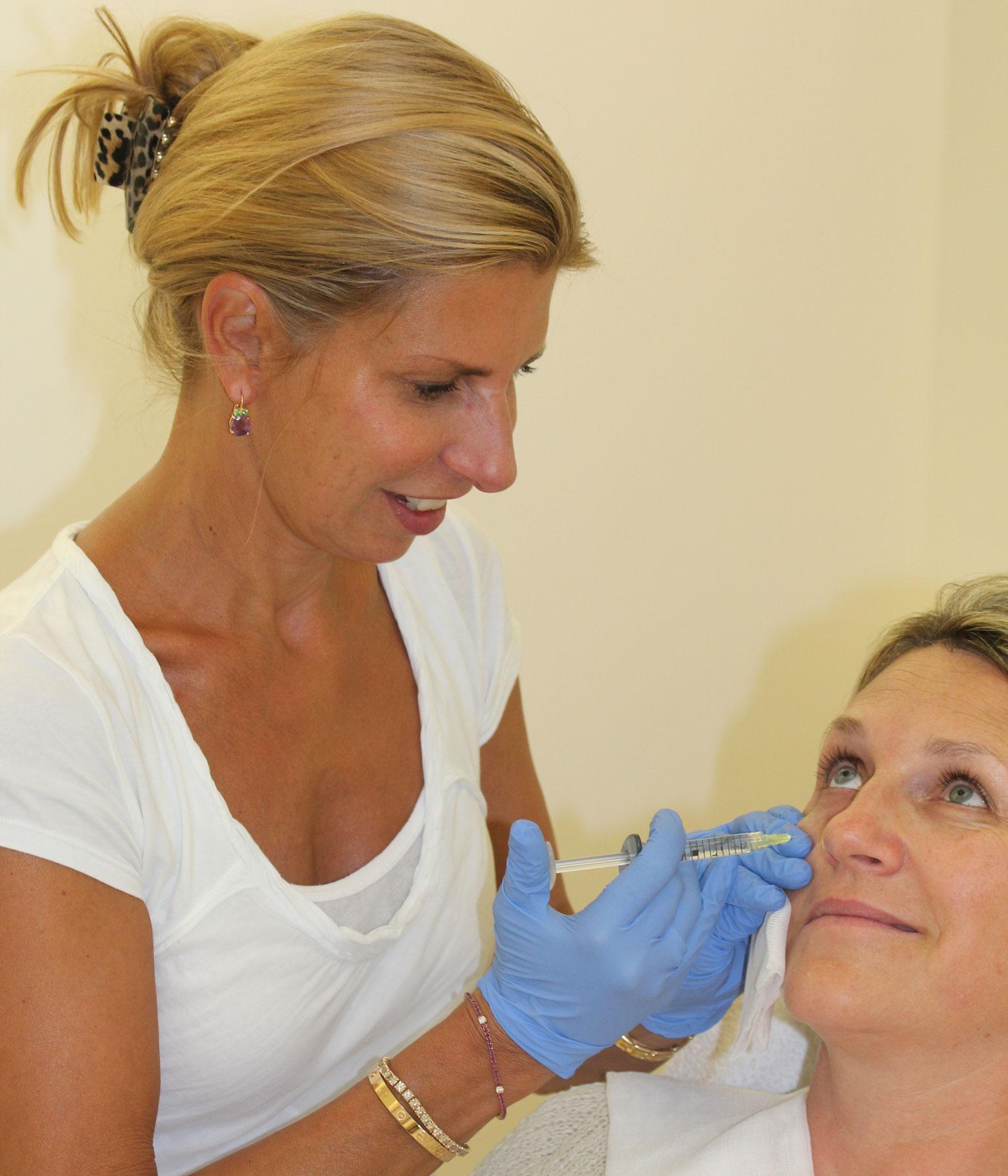 Unterspritzung Augenringe bei Wallentin Wien