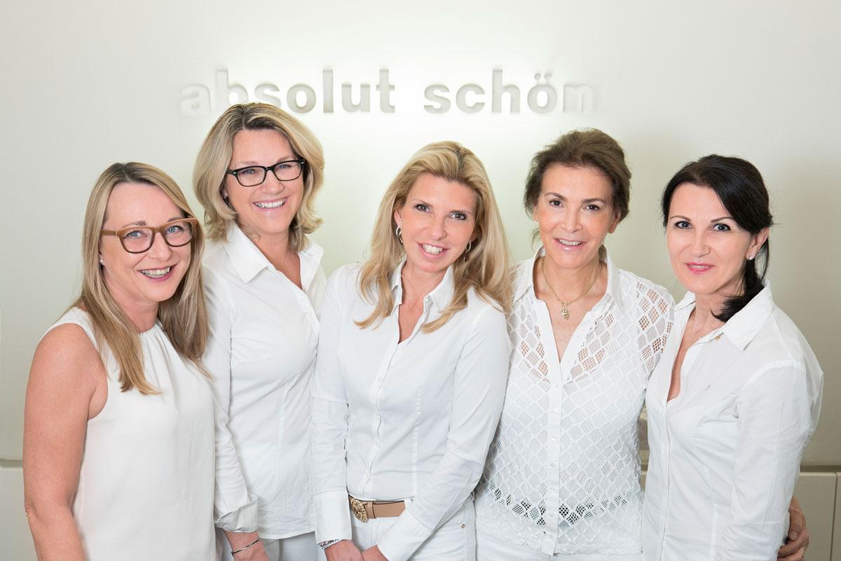 Team Dr. Wallentin absolut schön Wien