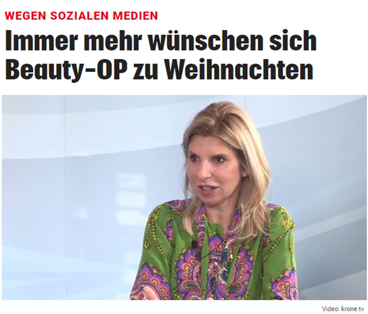 Dr. Doris Wallentin im krone.tv-Interview