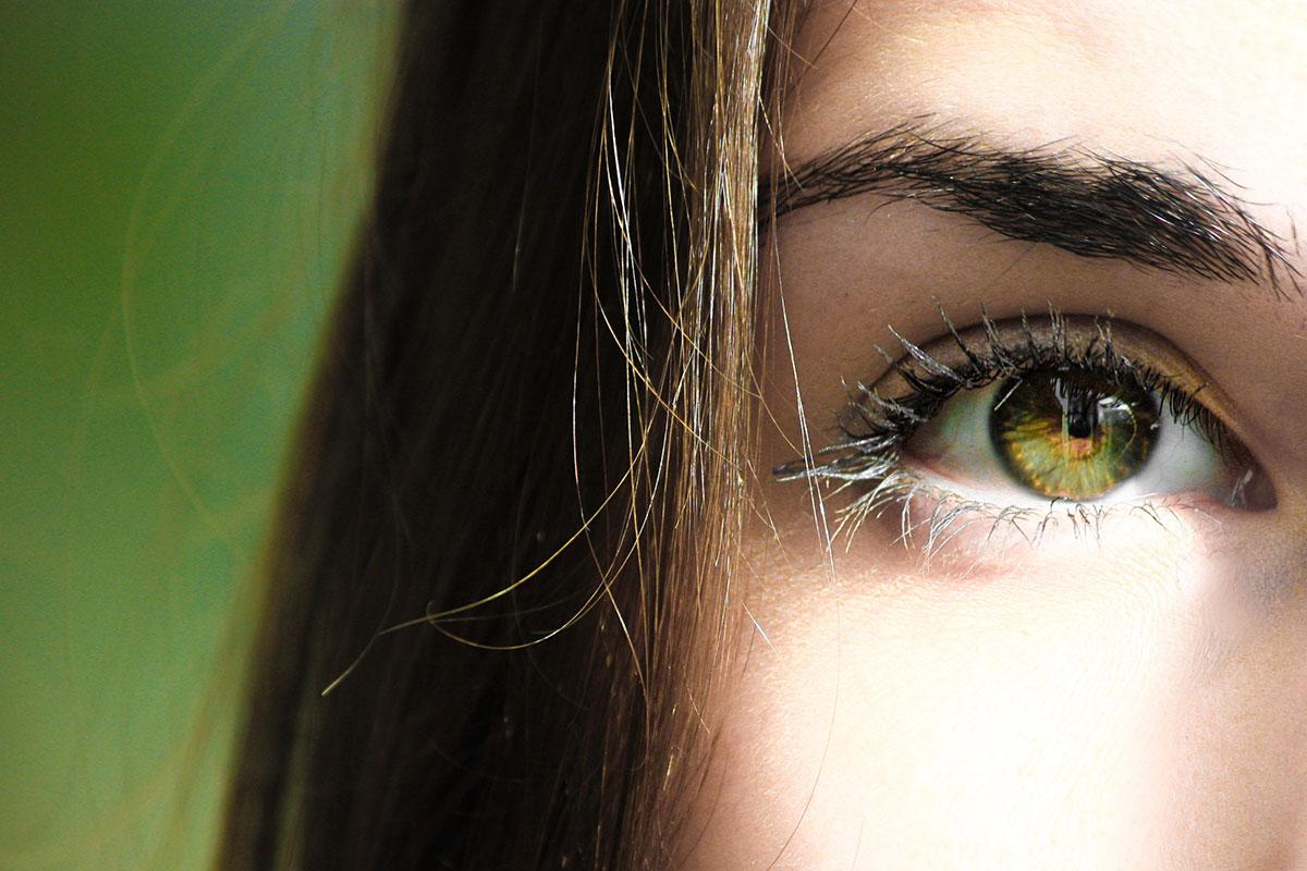 Auge ohne Tränensack