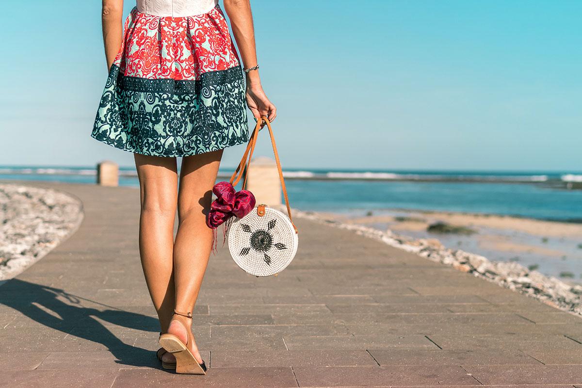 Frauenbeine ohne Besenreiser